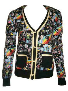 Sale Clearance 60% Off RRP Living Dead Souls Circus Top Last 2 S UK 8-10 BIG SALE NOW ON AT mouseyessim on ebay