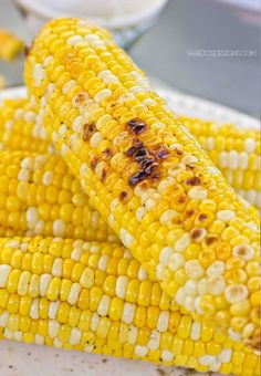 Great, easy to make summer vegetable- the best grilled corn on the cob recipe is a perfect summer side that is easy to make and eat. Extra juicy and soft!