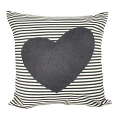I pinned this Heart Pillow I from the Pattern Perfect event at Joss and Main! I like that the grey color doesn't scream Valentine.