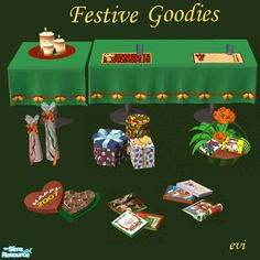 Little gifts for everyone! Make your Sims happy this Christmas  Found in TSR…