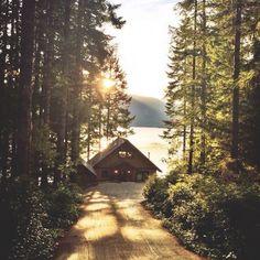 Дом на природе.