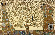 """AQUARELLE EN LIBERTÉ: Un nouveau Klimt, """"L'Attente"""" tiré d'une fresque du Palais Stoclet à Bruxelles"""