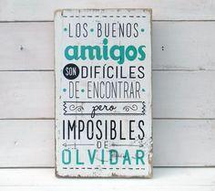 Letreros vintage amigos   LOS BUENOS AMIGOS... PROMO AMIGO