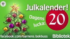 Lucka 20 by Stockholms stadsbibliotek. Lucka nummer tjugo i bokbussens julkalender, medverkande: Ingrid Källström. Följ bokbussens julkalender på Facebook: facebook.com/barnensbokbuss Se tidigare avsnitt på Vimeo: vimeopro.com/stockholmsstadsbibliotek/barnensbokbuss