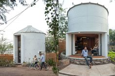 This Tiny Home Will Make You Want to Live in a Grain Silo