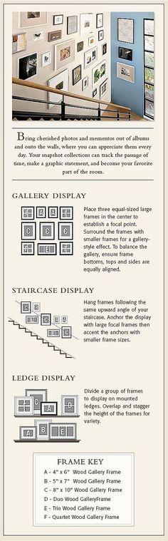 Face à des murs tout blanc ou lorsqu'on doit agencer plusieurs cadres sur un même mur, on se retrouve souvent fort dépourvus : l'insp...