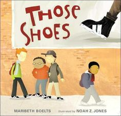 What It's About: In this book, we see a young boy dreaming about getting a pair of really cool shoes. Unfortunately, his family does not have the money for this dream to become a reality. He eventually finds the shoes in a thrift shop in near perfect condition and buys them even though they are too tight. Another kid in his class can't afford new shoes either, and his feet would fit in the cool shoes when the narrator's would not. So, the narrator decides to give his shoes away.Why It's…