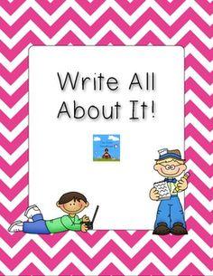 The Teaching Tribune:Writing Intervention Writing Strategies, Writing Resources, Writing Activities, Writing Ideas, Writing Mini Lessons, Writing Lesson Plans, Kindergarten Writing, Teaching Writing, Literacy