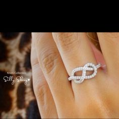 I think the infinity knot ring is perfect for a promise ring or even an anniversary!!