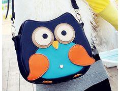 owl cross body bag.