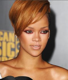 Rhianna, wild, super rock star glam looks would be my styling for her !