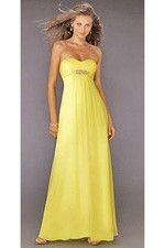 This unique design wedding party dresses called  Sweetheart Neckline With Shiny Detail Bridesmaid Dress  which can show females' curve perfectly. This dress made of Chiffon fabric, featuring on Beading embellishment and its Sweetheart neckline is the bestseller of Color Bridesmaid Dresses And we also offer various of wedding party dresses in the latest designs leading the fashion trends. - $123.29