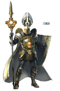 The armor is stupid but i like that spear