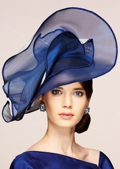 Fabienne Delvigne. For Timelessly Chic Millinery