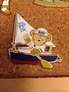 Duffy Bear Sailboat Sails Sailor Mystery Hong Kong HKDL Disney PIN | eBay