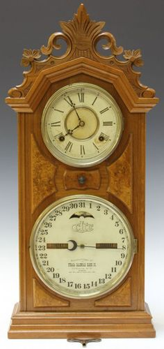 Gazo Family Clock Factory La Mesa Early Model In Alder
