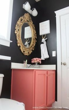 Back to Black: Black Wall Paint Inspiration #stylemath