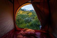 Camping inspiration - Capitol Peak trailhead, Colorado