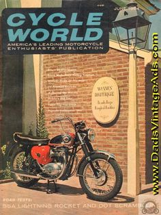 Cover: BSA; Road Tests: Dot Scrambler, BSA 650 Lightning Rocket; H&C Triumph Special- Clark White's TT mount is analyzed; Trail Test: Yamaha Trailmaster; Technical Analysis: Honda 350 Four; Duels of the Wall - a brief look into racing's past; Road Impression: Gilera 98; In McQueen's Ser