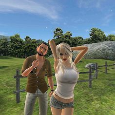 An awesome Virtual Reality pic! Country photoshoot  #avakinlife #avakin #avakin_life #starstyle #couple #virtualworld #virtualreality #sims #imvu #imvuonly #secondlife #avi #avatar #bongbeauties #high #highsociety #420 by callme_caseyy check us out: http://bit.ly/1KyLetq