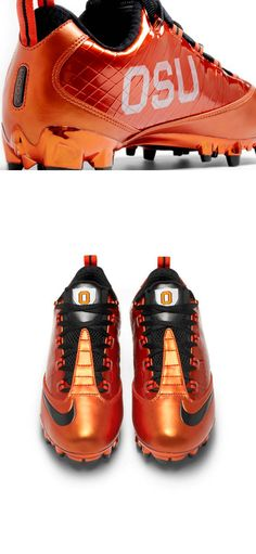 Oregon State University Beavers - nike game cleats with logo - 2 views