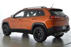 2014 Jeep Cherokee Trailhawk in Mango Tango
