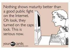 Internet social media humor...