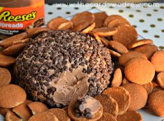 Reese's Spreads Cream Cheese Ball - The Cards We Drew