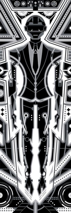 Daft Punk - Silver by ron-guyatt.deviantart.com on @deviantART
