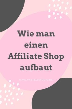 Wie man einen Affiliate Shop aufbaut Making Passive Money Made Easy - With my easypeasy guide to you Cash From Home, Earn Money From Home, Earn Money Online, How To Make Money, Affiliate Marketing, Online Marketing, Web 2.0, Budget Planer, Shops