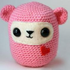Pink and Cute- Download this free pattern at Amigurumipatterns.net