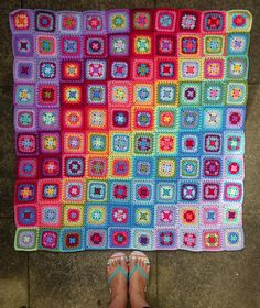 At the start of June 2017 I decided to crochet a square blanket for the Summer. I wanted to use this lovely bright palette of colours that I first put together back in 2010, as they are so lovely and...