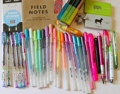 Cute Pens and Office Supplies by GourmetPens, via Flickr @JetPens