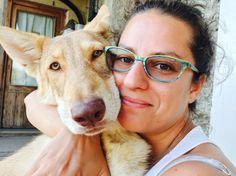 #Selfie di Sara R. Dioguardi con Avada Kedavra di Fossombrone  #WeAreFossombrone #SaarloosWolfdog