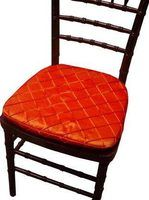 Chair cushions make hard chairs soft
