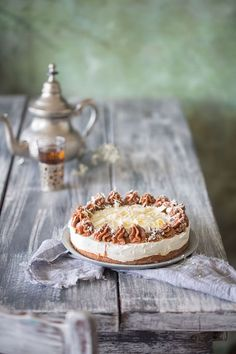 Nougat-Quark Torte mit knusprigem Zwieback-Boden | Patrick Rosenthal | Bloglovin'