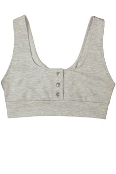 Only Hearts French Terry Henley Bralette, $48.00