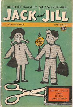 Jack and Jill September 1956 - Vintage Magazine