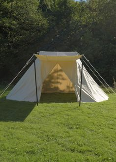 Saxon Tent Jorvik, 2 x 4 m, 340 gsm, natural colour