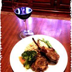 レシピとお料理がひらめくSnapDish - 7件のもぐもぐ - Lamb chop , minted snow peas,broccoli ,carrot and prawn pilau by kazuko Tsuji
