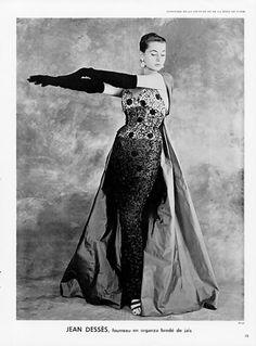 Jean Dessès 1954 Arsac Fashion Photography #EasyNip