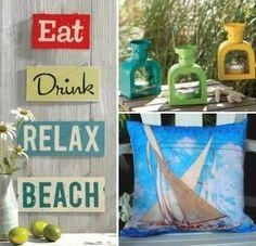 beach signs & crafts