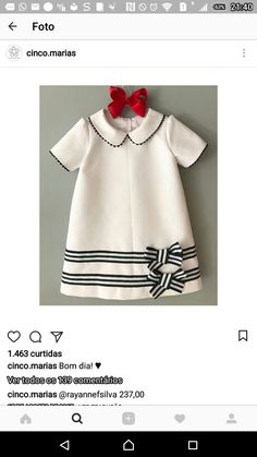 Frocks For Girls, Little Dresses, Little Girl Dresses, Little Girl Fashion, Fashion Kids, Baby Dress Design, Kids Gown, Baby Dress Patterns, Baby Sewing
