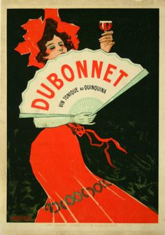 Dubonnet Vin Tonique Au Quinquina - France - 1920 - illustration de G. Boano -