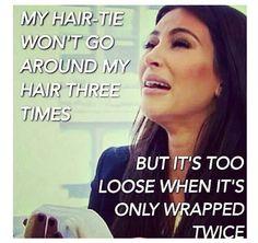 Long hair jokes