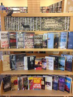 November display -- Hunting for a good book?
