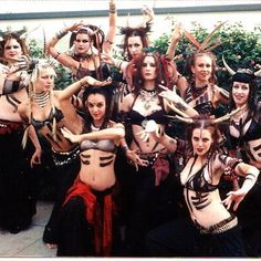 Throwback Thursday. Urban Tribal Dance Company, November 2001.