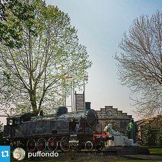 #Torino raccontata da puffondo per #inTO #into La locomotiva davanti alle #ogr #gcpf904