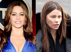 Sofia Vergara from Stars Without Makeup Does the Red Carpet GlamCam staple still score bombshell status without the va-va-va-voom makeup? You be the judge.