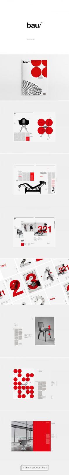 bau® Magazine on Behance - created via https://pinthemall.net